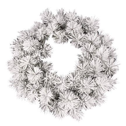 Božični venček zasnežen 60 cm